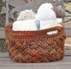 Celtic-Dream-Basket: FREE crochet pattern