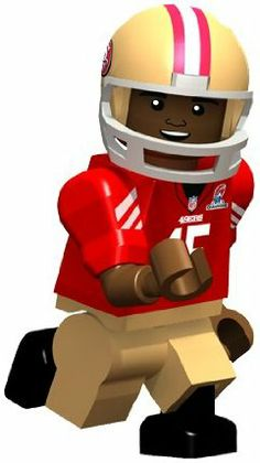 OYO Football NFL Building Brick Minifigure Michael Crabtree [San Francisco 49ers] NFC Champions by OYO. $10.99. OYOs are designed with eyes, ears, nose, mouth, and other facial characteristics that best represent their real life counterparts! Unique ball design snaps onto hand and allows your OYO to grip and throw. Cool down with the attached water bottle after making the great play. Specially designed, rotating forearms for sports figures to allow for action! Without kn...