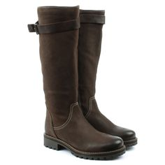 Brown Leather Knee High Winter Boot, daniel footwear,  #kneehigh , #fallboots  , #autumnboots