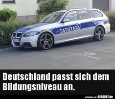 Deutschland passt sich dem Bildungsniveau an… Germany adapts to the level of education Funny pictures sayings joke