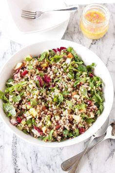 Winter Kale and Wild Rice Salad recipe