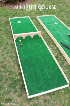 Put-Put Mini Golf Course  - CountryLiving.com