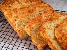 Garlic Cheese, Beer Cheese, Cheese Bread, Cheddar Cheese, Cheese Beer Bread Recipe, Bread Maker Recipes, Beer Recipes, Cooking Recipes, Coffee Recipes