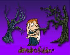 Zarampagalegando: Dicionario visual. Dendrofobia
