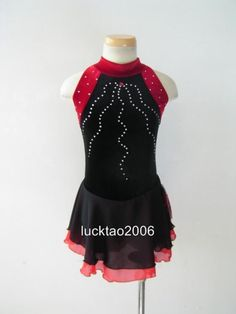Gorgeous Figure Skating Dress Ice Skating Dress #6702