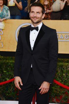 So handsome! Bradley Cooper at the SAG Awards.