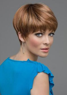 Cute Straight Pixie Cuts, Short Hair for Women