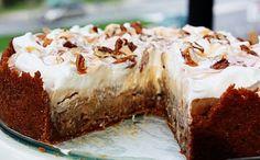 Delightful Bitefuls: Caramel Apple Cheesecake Pie