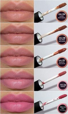 NYX Soft Matte Lip Cream nude swatches.