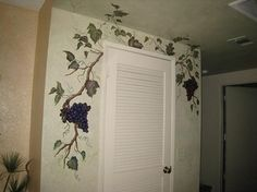 After - Kitchen Grapevine Mural - traditional - kitchen - los angeles - LB Interiors