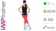 Esercizi Per Gambe e Glutei Con Elastico e a Corpo Libero
