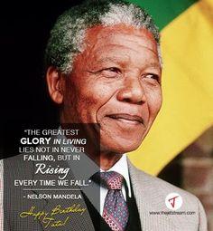 Celebrating the legacy of Nelson Mandela. #Quote #Mandela