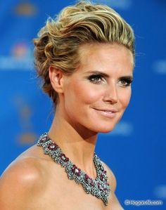 famosas con maxi collares - Heidi Klum