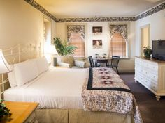 The Inn - Room 701 - King bed + Sleeper Sofa - 18 Inn rooms & suites tucked into eight different buildings spread throughout Kitchen Kettle Village. Lancaster County, Sleeper Sofa, King Beds, House Rooms, Second Floor, Kettle, Flooring, Kitchen, Furniture