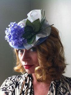 Chapeau des années 1940 Tilt perche Doll Hat par LadyEveMillinery