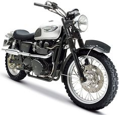 Triumph from Mission Impossible 3 (Bonneville turn into Scrambler)