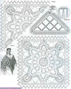 Capas y Chales | Mi Rincon de Crochet