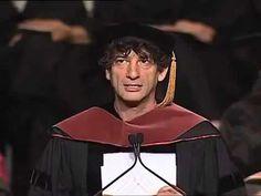 Discurso de Neil Gaiman para os formandos da University of the Arts na P...