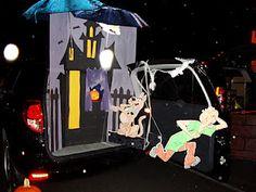 Scooby-Doo scene for Halloween Trunk or Treat