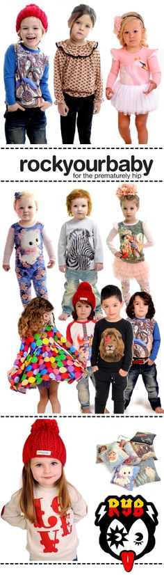 Rock Your Baby: Autumn/Winter 2013 Collection Launch