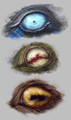 crazy creature eyes