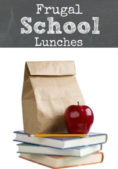 Frugal Lunches for Back to School :: Frugal School Lunches #weePLAN