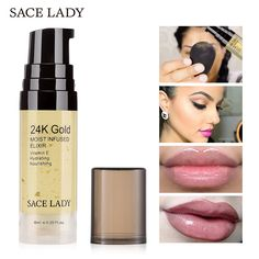 1 Get 1 Gift Face Serum Gold Essence Elixir Face Oil. ✓ The Gold Hydrating Oil Makeup Primer flakes absorb right into your skin, leaving your skin glowing and naturally radiant. ✓ It is a an effective lightweight moisturizer wit Makeup Primer, Face Oil, Face Serum, Flakes, Glowing Skin, Sephora, Moisturizer, Anti Aging, Gold