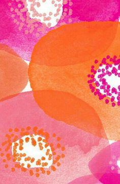 Pink & Orange colour blast | surface pattern design | colour design | textile design