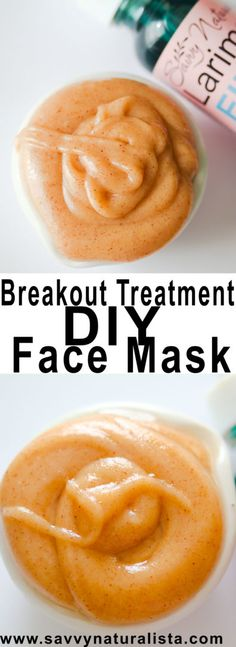 Acne Break Out Treatment Face Mask - Savvy Naturalista