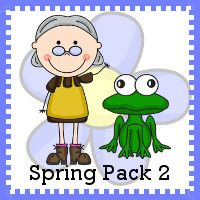 Free Spring 2 Pack - Over 85 pages with activities for kids ages 2 to 8. There is both print and cursive options in this set. It goes with There was an Old Lady Who Swallowed a Frog - 3Dinosaurs.com
