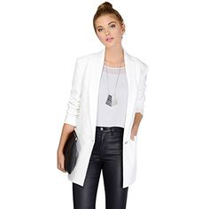 My Wonderful World Women's Plus Long Sleeve Spring Blazer Outwear XX-Large White My Wonderful World Blazer Coat Jacket http://www.amazon.com/dp/B013FZM05O/ref=cm_sw_r_pi_dp_NIXWvb13QMZDA