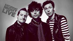 Green Day SNL 21 Guns