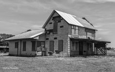 https://flic.kr/p/tFTqDW | Time Forgot_BW | While driving along the backroads of Oklahoma I came across this abandoned house. The stories this place could tell.