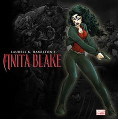 Anita Blake series by Laurell K. Hamilton!