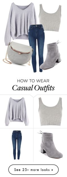 """Casual"" by michellesfashioncompany on Polyvore featuring Topshop and LC Lauren Conrad"