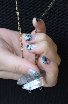 Spotted this awesome (and super easy) mani in the office. #SephoraHQ #FormulaX