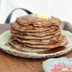 Lord of Light and Fluffy: Cinnamon and Honey Gluten-free Pancakes recipe | www.SongofSpiceandFire.com