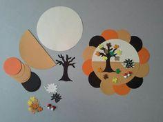 Évszak Autumn Crafts, Nature Crafts, Thanksgiving Crafts, Craft Kits For Kids, Art For Kids, Crafts For Kids, November Crafts, Sensory Art, Canson