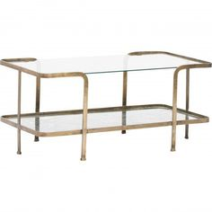Collete Coffee Table - Coffee Tables - Accent Tables - Furniture