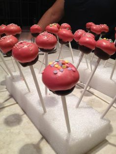 Cup cake, cake pops