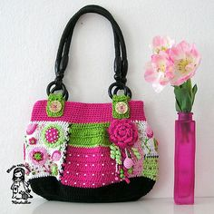 Comprar amar suavemente patrón de crochet bolsa - Allcrochetpatterns.net