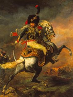 Officer of the Hussars 1814, Théodore Géricault.
