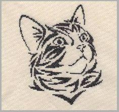 Cross Stitch Designs, Cross Stitch Patterns, Monochrome, Crochet Animals, Crossstitch, Cross Stitch Embroidery, Pixel Art, Needlework, Knitting