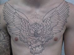 Chest Tattoo for Men 10