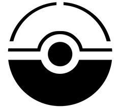 Pokemon Ball Stencil