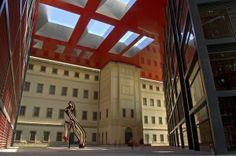 Reina Sofia Art Center, Spain, Madrid