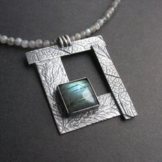 Window on the east silver, labradorite