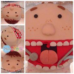 #pastelicious #fondantcake #birthdaycake Dentist cake.