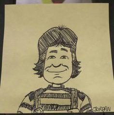 Work Doodle: Shazzbot! #RIPRobinWilliams