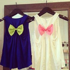 Ribbon Shirts DIY Clothes for Teens | Awesome Refashion Ideas Perfect for your Spring and Summer Outfit by Diy Ready at http://diyready.com/diy-clothes-for-teens/